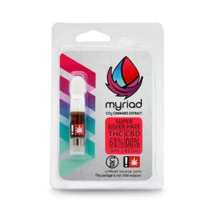 Buy Myriad Nectars | Super Silver Haze CO2 Oil Cartridge | 1/2g
