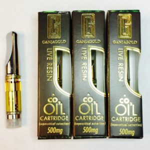 Ganja Gold Live Resin Cartridges