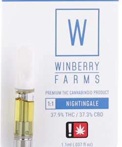 Winberry | Nightingale CBD 1:1 Oil Cartridge | 1/2g